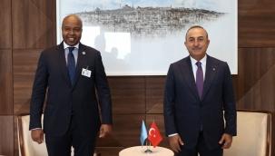 Çavuşoğlu, Belaruslu ve Somalili mevkidaşları ile Türkevi'nde buluştu