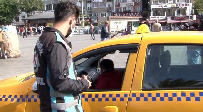 İstanbul'da trafik denetimi yapıldı