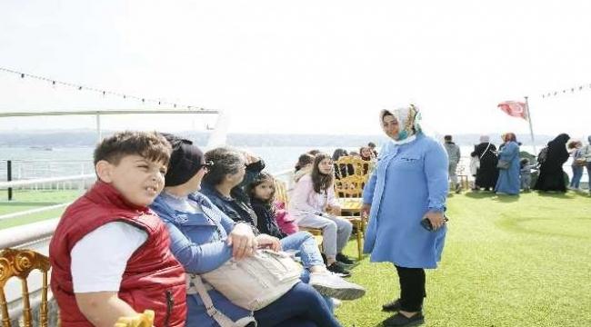Sultangazi Belediyesi, boğaz turu düzenledi