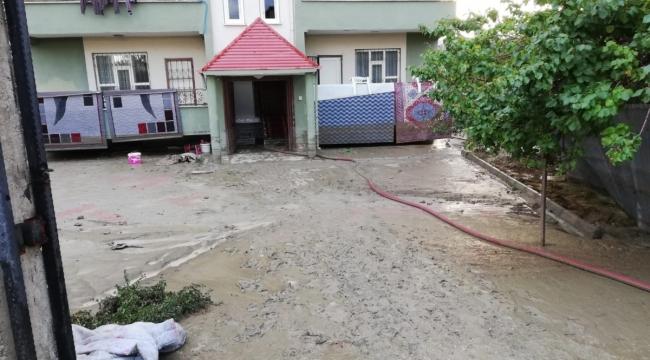 Van'da su baskınında 31 ev ve 1 iş yeri zarar gördü