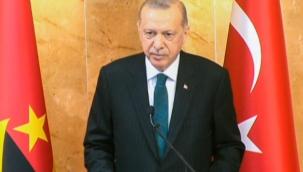 Erdoğan, Angola Meclisi'nde konuştu