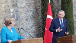 Erdoğan ve Merkel arasında ilginç diyalog